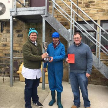 Beef overall winner - Jack Henwhaw, Catterick YFC