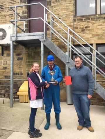 Lamb overall winner - Emma Cockerill, Kirkbymoorside YFC