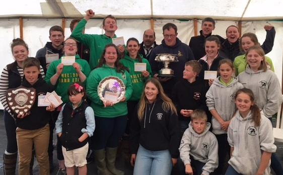 Yorkshire YFC win NA Field Day 2017