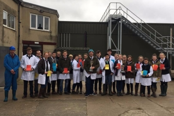 Competition winners from Yorkshire YFC Live & Carcase 2017-18