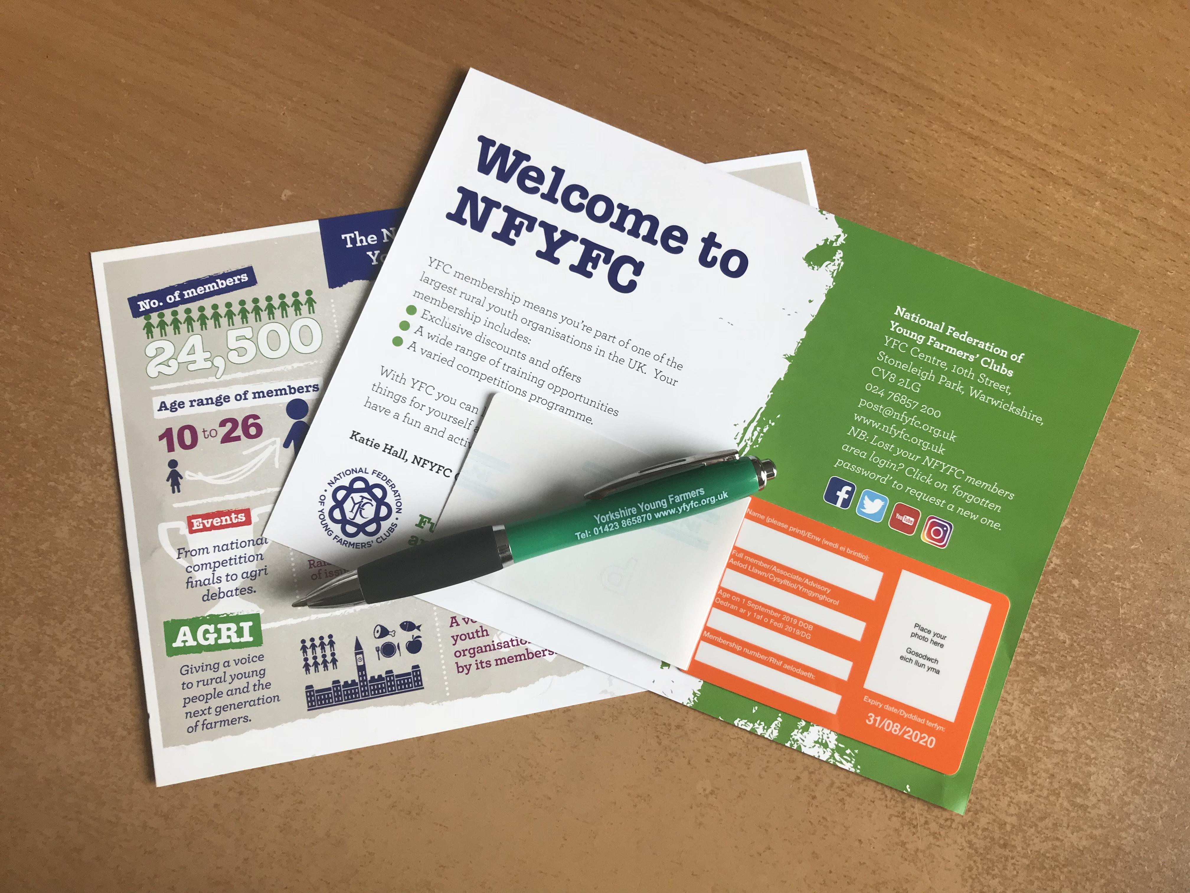Membership card 2019
