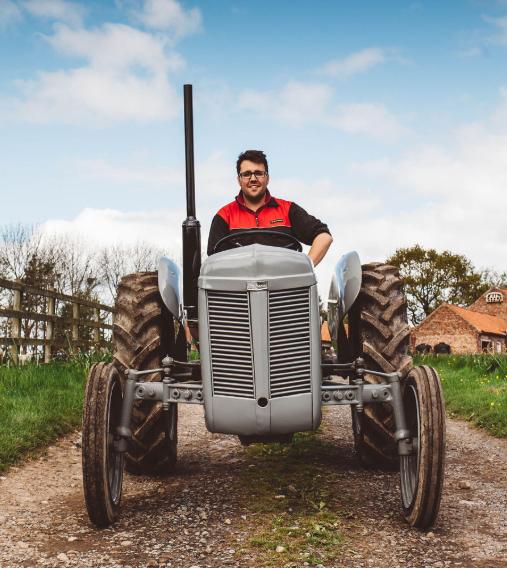 Stephen Jarmuz tractor