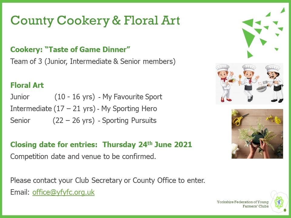Cookery Floral Art 2021
